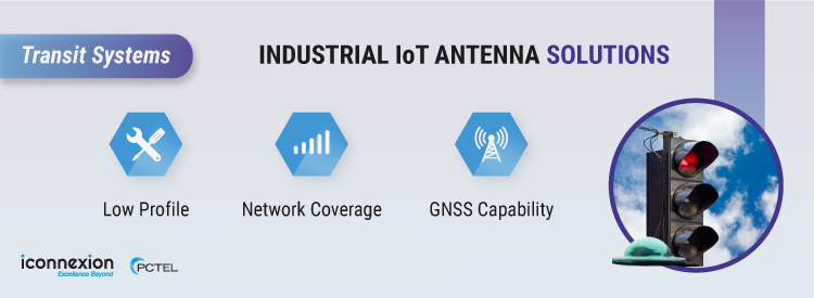 Industrial IoT Antenna Solutions for Transit Systems