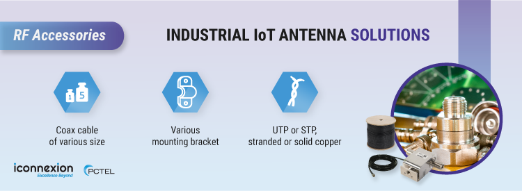 Industrial IoT Antenna Solutions – RF Accessories