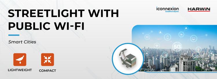 Streetlight with Public Wi-Fi